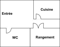 plan hall maison assos