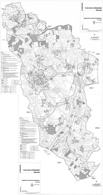 plu carte ou map plumaudan