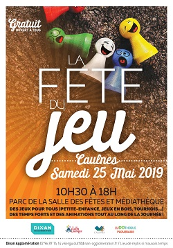 fête du jeu à caulnes mai 2019