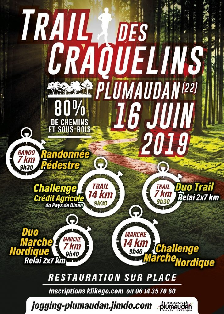 affiche trail des craquelins 16 juin 2019