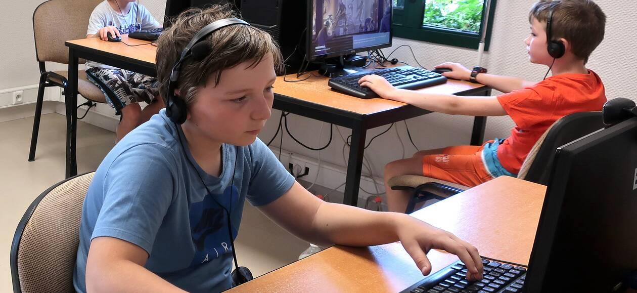 Plumaudan. Les enfants se sont retrouvés à Cybercommune
