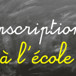 Inscription à l'école